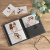 """4"""" x 6"""" Photo Album with Frame Front Gray 2 Per Page - Threshold™ - image 2 of 3"""