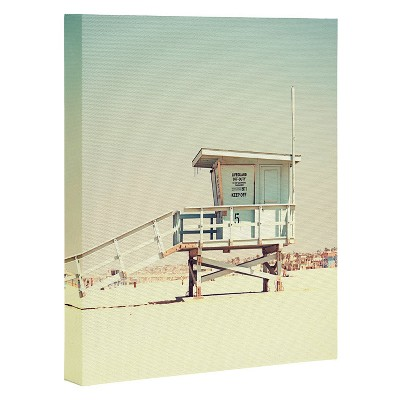Bree Madden Retro Summer Art Canvas 8  x 10  - Deny Designs