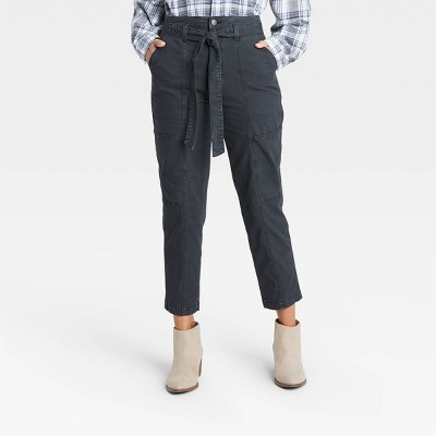 Women's High-Rise Tapered Cropped Pants - Universal Thread™