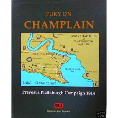 Fury on Champlain Board Game