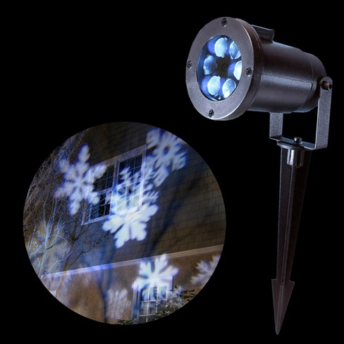 LumaBase® Electric LED White Snowflake Projector Light - image 1 of 2