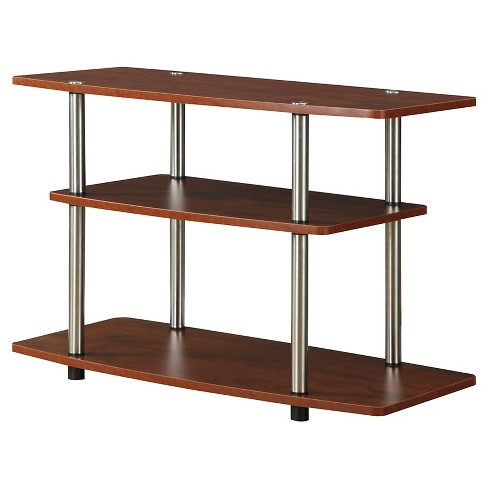 3 Tier TV Stand - Cherry - Convenience Concepts - image 1 of 3