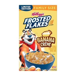 Frosted Flakes Banana Creme Breakfast Cereal - 24oz - Kelloggs