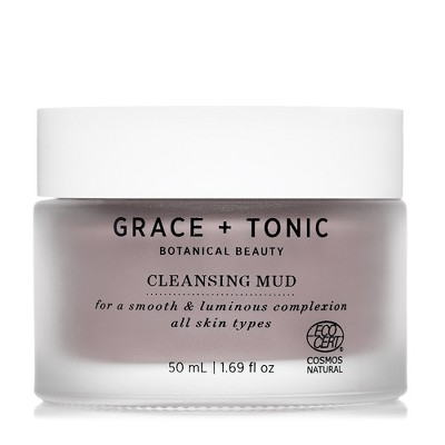 Grace + Tonic Botanical Beauty Facial Cleansers   1.69oz by Grace + Tonic Botanical Beauty