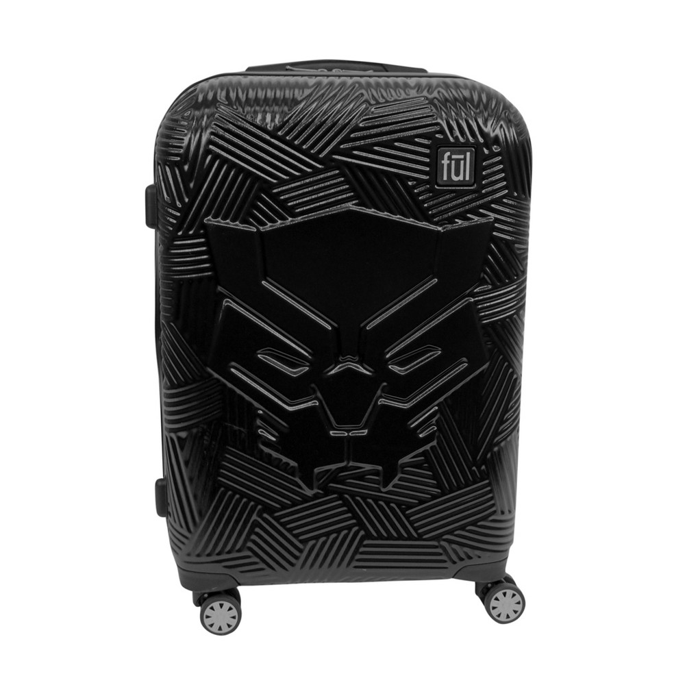 "Image of ""FUL 29"""" Black Panther Hardside Suitcase - Black"""