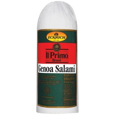 Eckrich Deli Genoa Salami - Deli Fresh Sliced - price per lb