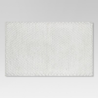 Penny Textured Bath Rug (20 x34 )White - Threshold™