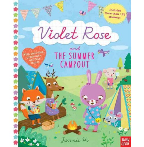 Violet Rose and the Summer Campout (Paperback) - image 1 of 1