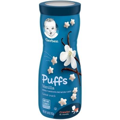 Gerber Puffs Vanilla Cereal Baby Snacks - 1.48oz