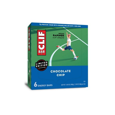 CLIF Bar Chocolate Chip Energy Bars - 6ct - image 1 of 4