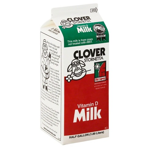 Clover Stornetta Vitamin D Milk - 0.5gal - image 1 of 1