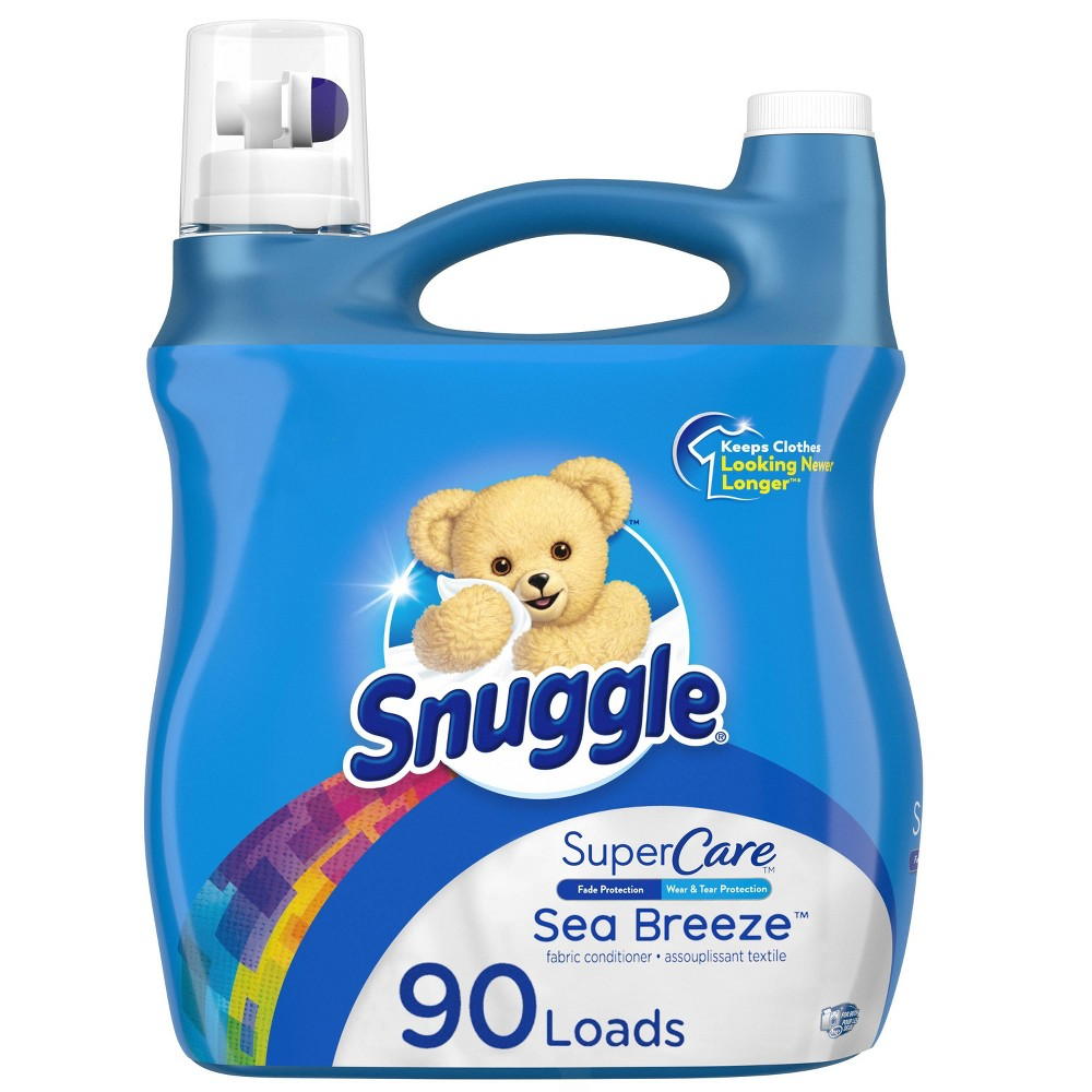 Snuggle Supercare Sea Breeze Liquid Fabric Softener - 95oz