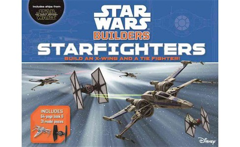 Star Wars Builders Star Fighters (Hardcover) (Adam Bray) - image 1 of 1