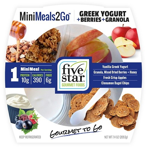 Minimeals2Go Greek Yogurt & Berries & Granola Sandwich Snacks - 7.4oz - image 1 of 1