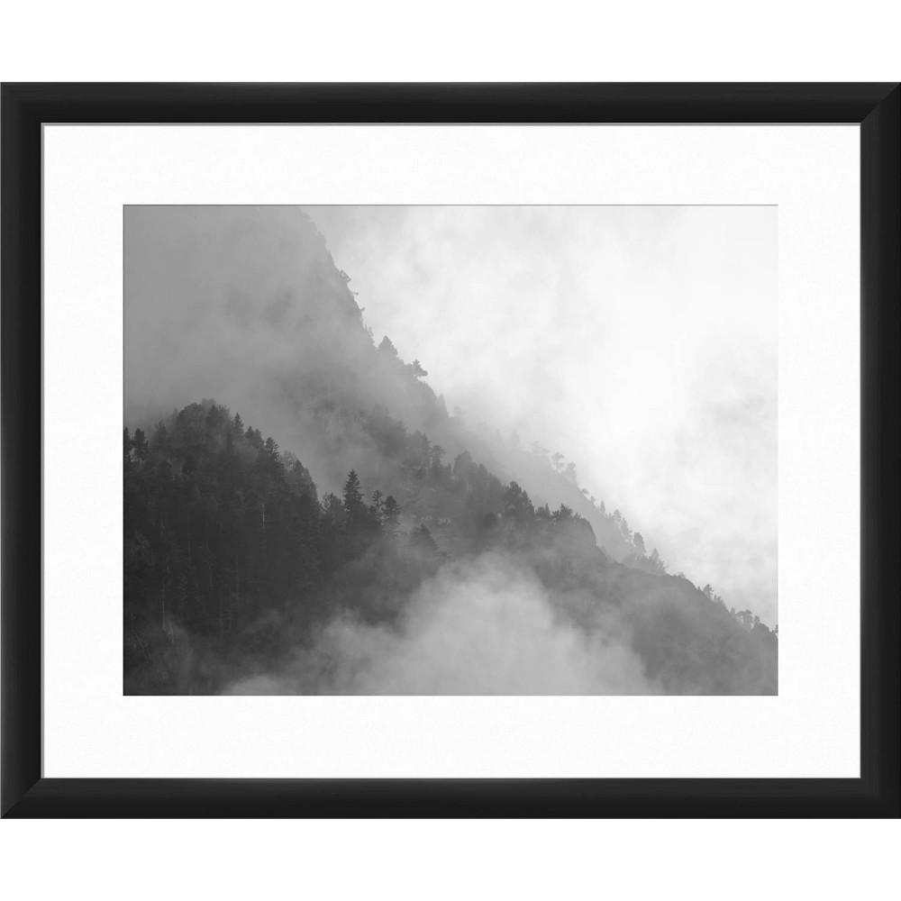 22 34 X 18 34 Cloud Forest Framed Wall Art Black Ptm Images