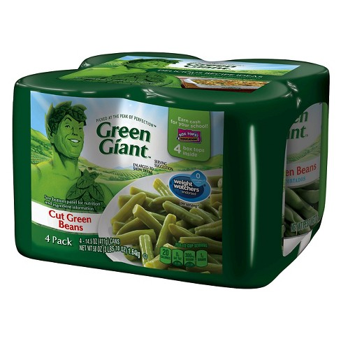 Green Giant Canned Green Beans 14.5 oz - 4 pk - image 1 of 1