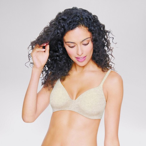 Hanes® Women's Ultimate ComfortBlend® T-Shirt Wirefree Bra HU03 - image 1 of 1