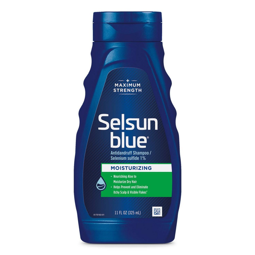 Selsun Blue Moisturizing Dandruff Shampoo 11 Fl Oz