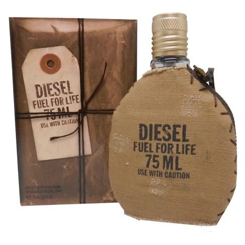 Diesel Fuel For Life By Diesel Eau De Toilette Men's Cologne Spray - 2 5 fl  oz
