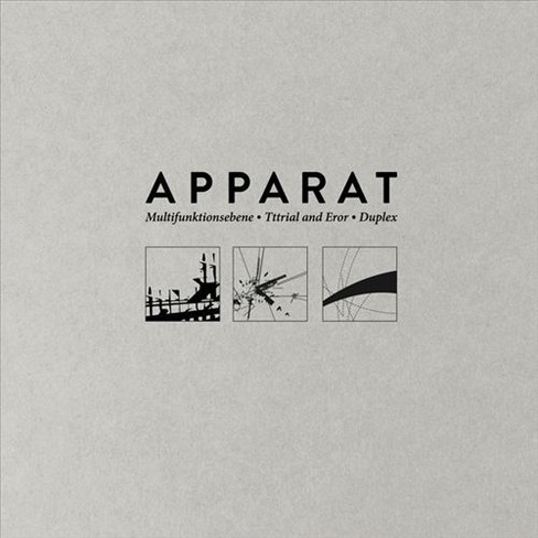 Apparat - Multifunktionsebene Tttrial And Eror (CD) - image 1 of 1