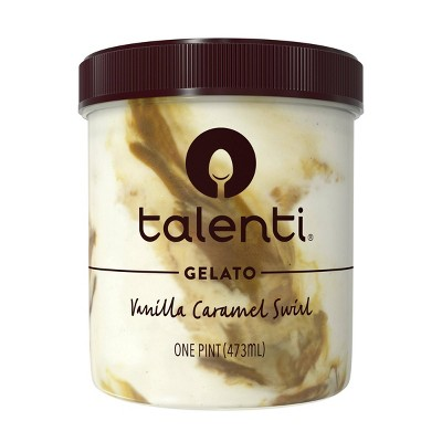 Talenti Vanilla Caramel Swirl Gelato Ice Cream - 16oz