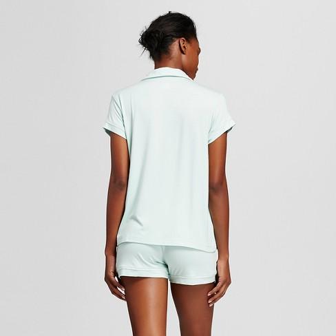 8701d8b099a7 Women s Pajama Set Total Comfort - Gilligan   O Malley™ - Glazed Green L    Target