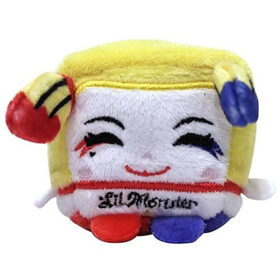 """Commonwealth Toys Suicide Squad 2.5"""" Kawaii Cube Plush: Harley Quinn"""