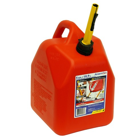 Plastic Gas Cans >> 5 Gal Spill Proof Gas Can