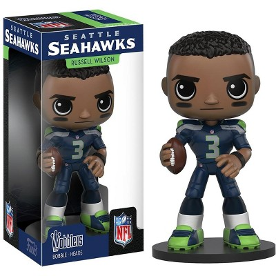 Funko Seattle Seahawks NFL Funko Wobbler Bobble Head - Russell Wilson