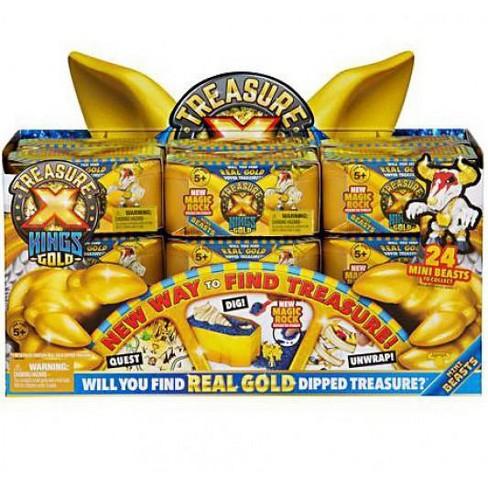 Treasure X Series 3 Kings Gold Mini Beasts Mystery Box [18 Packs] - image 1 of 1