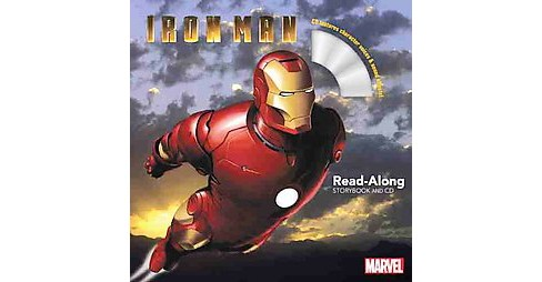 Iron Man : Read-along Storybook and CD (Paperback) (Marvel Book Group) - image 1 of 1
