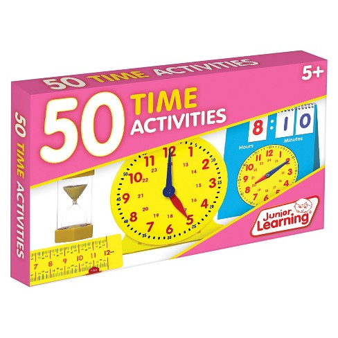 Junior Learning® 50 Time Activities Learning Set - image 1 of 3