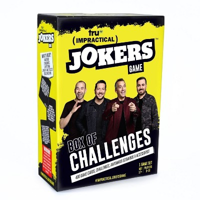 Impractical Jokers Box of Challenges Game
