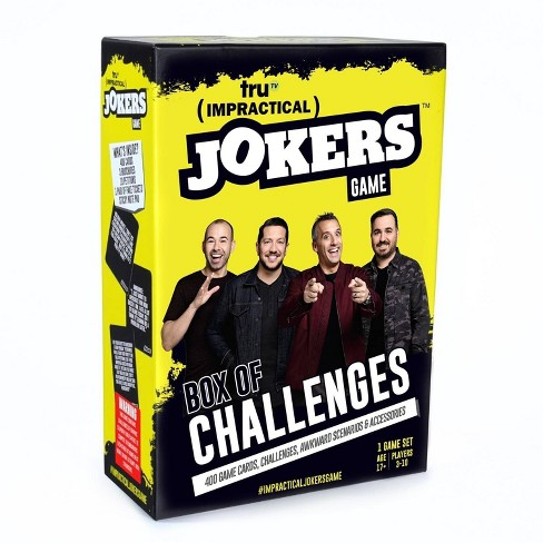 Impractical Jokers Box of Challenges Game - image 1 of 3