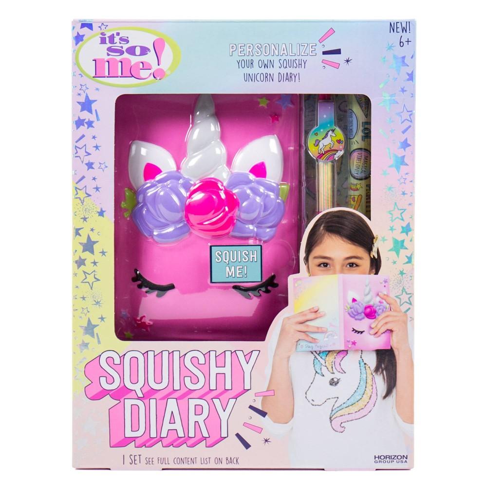 Image of It's So Me! Squishy Unicorn Diary