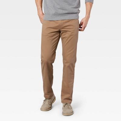 Dockers Men's All-Seasons Tech Straight Fit Jean Cut Chino Pants - Light Brown