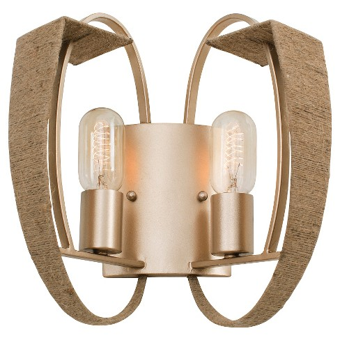 Tinali 2 Light Wall Sconce - Gold Dust - image 1 of 1