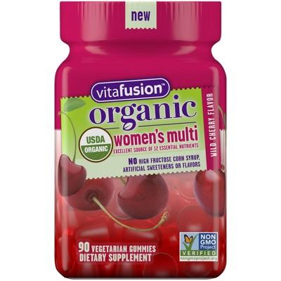 Vitafusion Organic Women's Gummy Vitamin