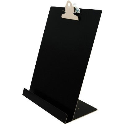 """Saunders Document and Tablet Holder 9-1/2""""Wx5""""Lx12-1/4""""H Black 22521"""
