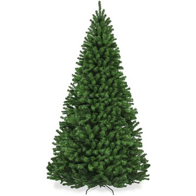 Best Choice Products Premium Spruce Artificial Christmas Tree w/ Easy Assembly, Metal Hinges & Foldable Base