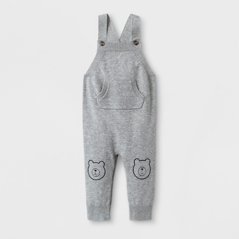 8b9ac2a1e56d Baby Boys  Sweater Romper With Kangaroo Pocket And...   Target