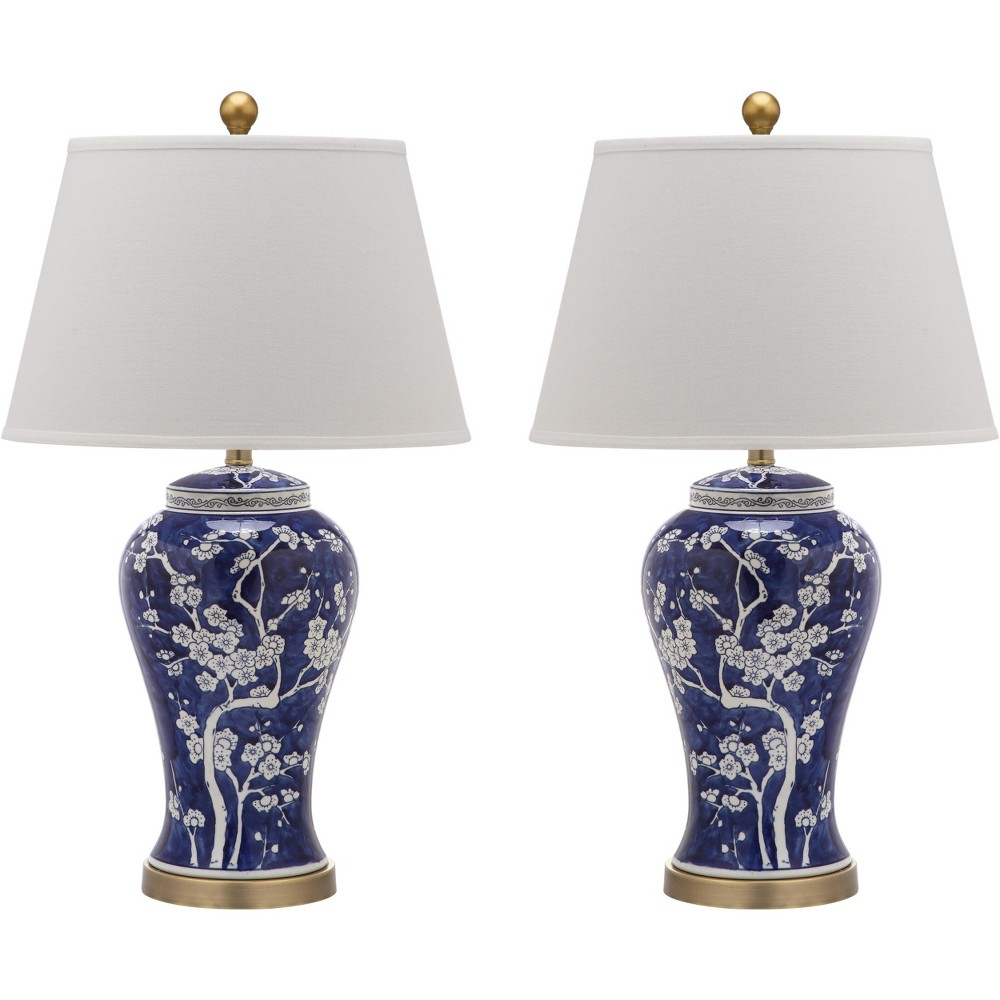 Spring Blossom Table Lamp (Set of 2) - Safavieh, Multi-Colored