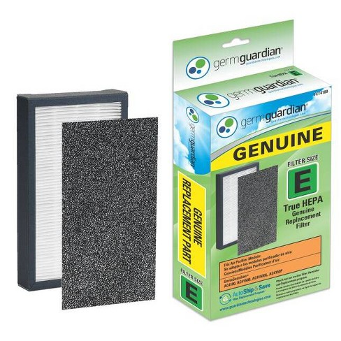 GermGuardian® FLT4100 HEPA GENUINE Replacement Filter E for AC4100 Air Purifier - image 1 of 3