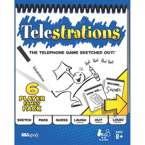 Telestrations Board Game - image 1 of 4