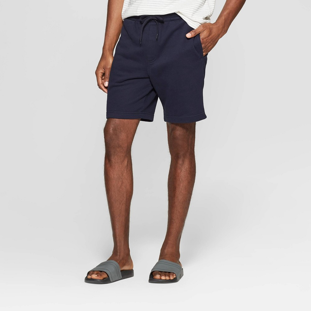 Men's Big & Tall 11.5'' Knit Lounge Shorts - Goodfellow & Co Blue 5XBT