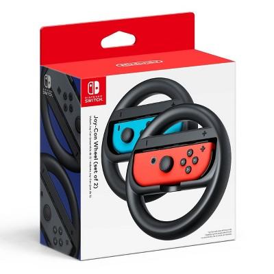 Nintendo Switch Joy-Con Wheel Set of 2 - Black