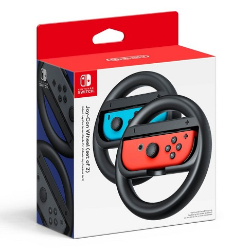 Nintendo Switch Joy-Con Wheel Set of 2 - Black - image 1 of 8