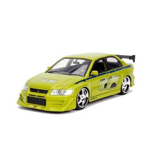Jada Toys Fast & Furious 2002 Mitsubishi Lancer Evolution VII Die-Cast Vehicle 1:24 Scale Green - image 1 of 2