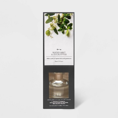2.02 fl oz Water Mint and Eucalyptus Oil Reed Diffuser - Threshold™