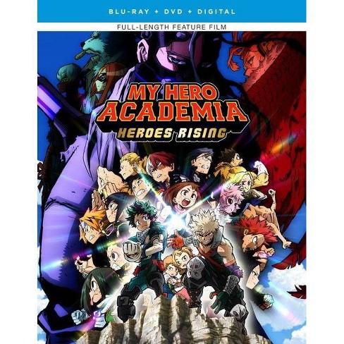 My Hero Academia Heroes Rising Blu Ray 2020 Target